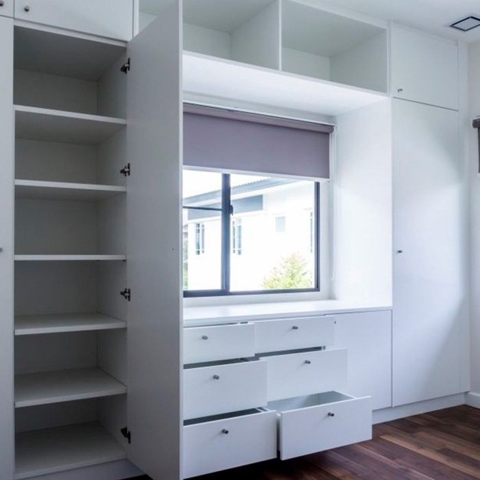 Aprovecha todo el espacio con armarios modulares