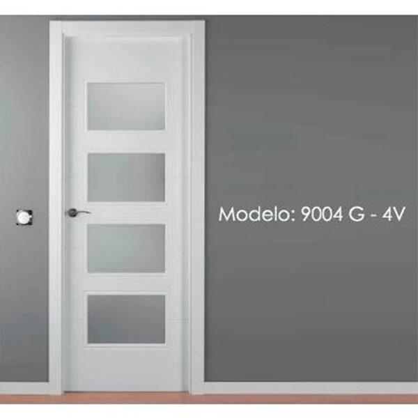 Modelo 9004 Puerta lacada de calidad estándar en Madrid