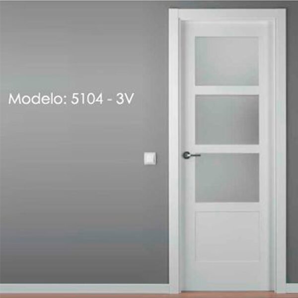 Modelo 5104 Puerta lacada de calidad estándar en Madrid
