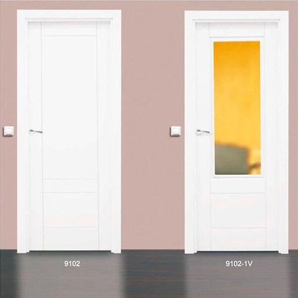 Modelo 9102 Puerta lacada de calidad PREMIUM en Madrid