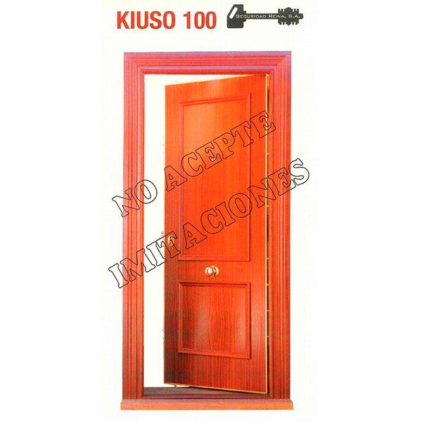 Puerta acorazada Kiuso K100 Sapely20S/Sapely20S Instalada